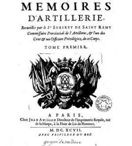 Mémoires d'artillerie
