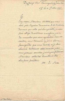 lettre M de Saxe 2